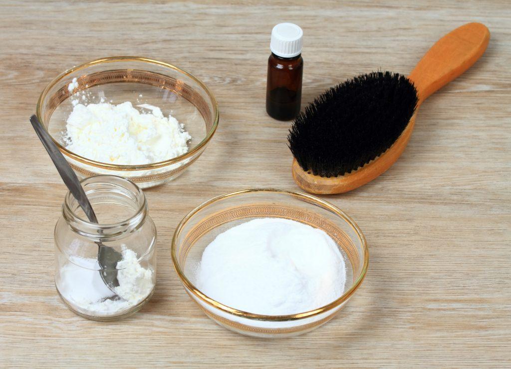 recette shampooing sec maison