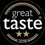 2 star Great Taste Award 2018