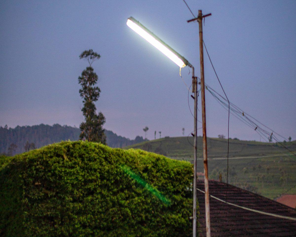 Éclairage à l'énergie solaire