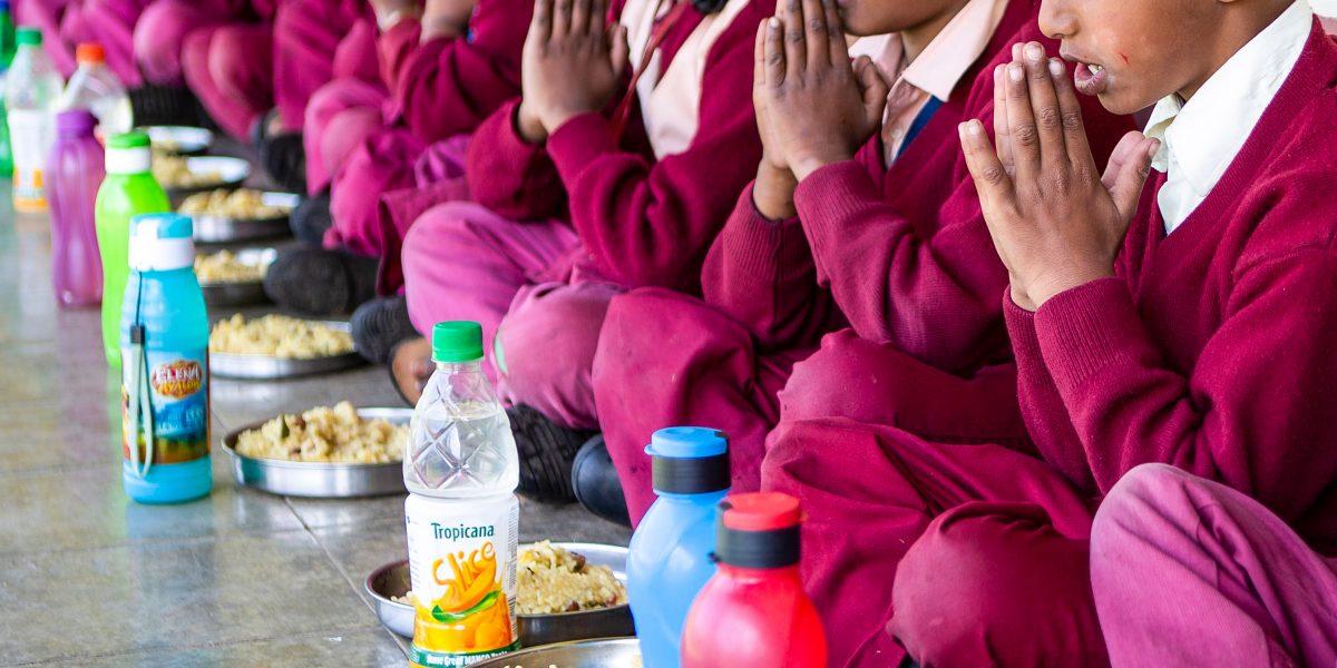 Alimentation dans une école primaire